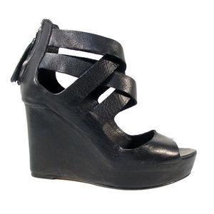 DOLCE VITA Jade Platform Wedge Tassel Sandals
